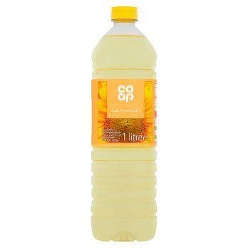 CO OP PURE SUNFLOWER OIL 1 LTR