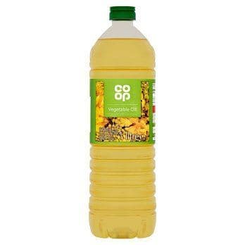 CO OP PURE VEGETABLE OIL 1 LTR
