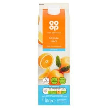 Co-op Smooth Orange Juice 1L