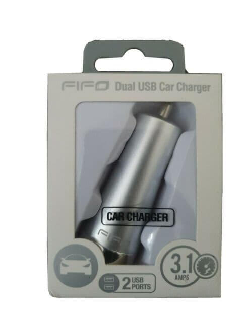 FiFO Dual USB Car Charger