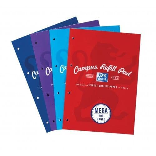 Oxford Campus 300 page Refill Pad