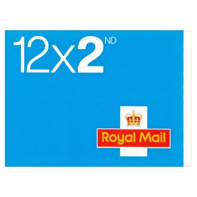 Royal Mail 12 x 2nd Class Stamps