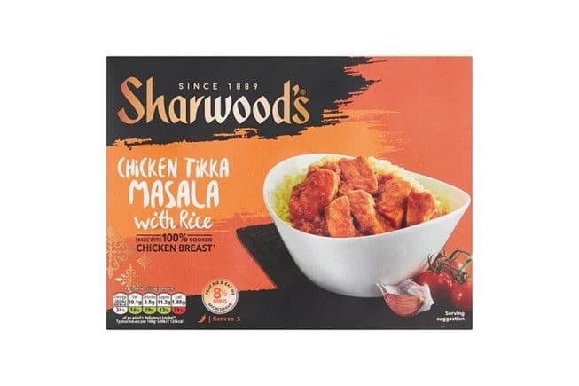 Sharwood's Chicken Tikka Masala with Rice 375g