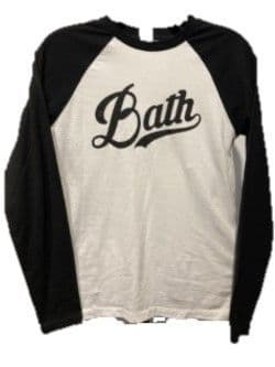 University of Bath Black Baseball Shirt