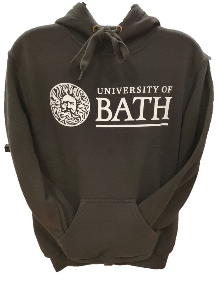 University of Bath Charcoal Hoodie