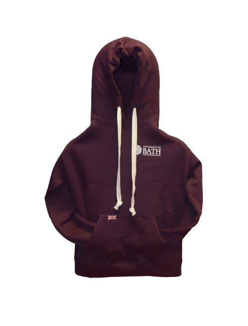 University of Bath Tape Hoodie - Berry