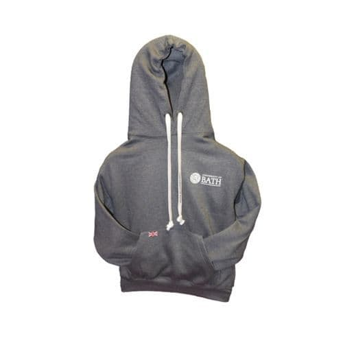 University of Bath Tape Hoodie - Charcoal Grey