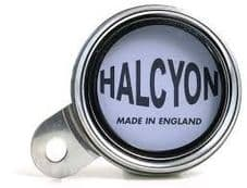 Halcyon waterproof  licence holder chrome rim - ideal for personal contact details in case of emergency