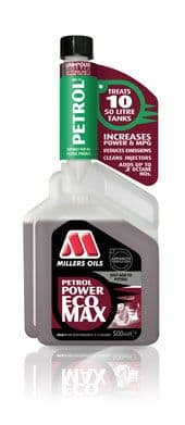 Millers Oils Petrol Power ECOMAX 500ml TWO FOR £28.00