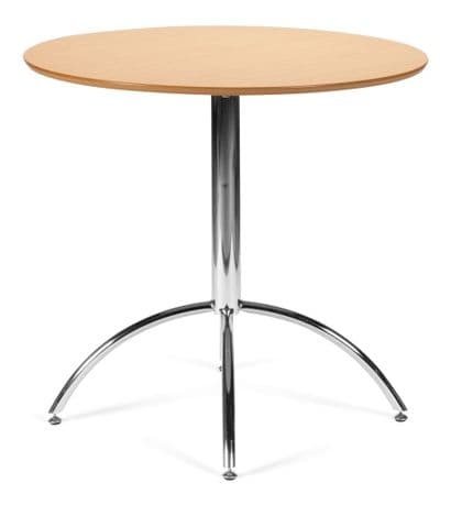 Kimberley Natural & Chrome Dining Table Sale Now On Your Price Furniture