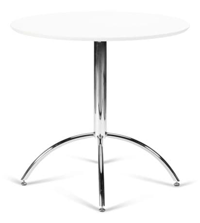Kimberley White & Chrome Dining Table Sale Now On Your Price Furniture